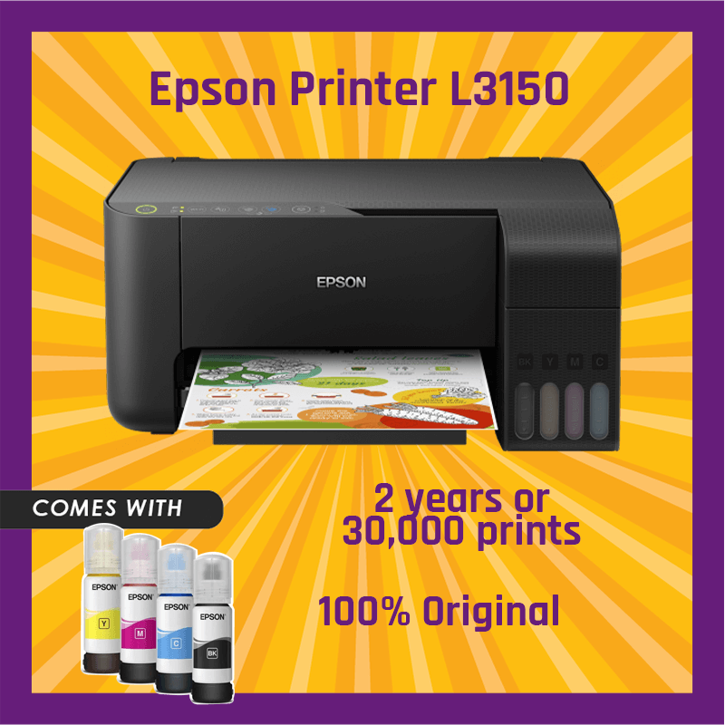 How to connect epson l3150 printer to wifi